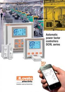 Automatic power factor controllers DCRL series