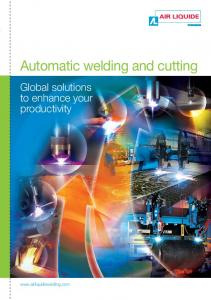 Automatic welding and cutting