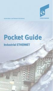 Automation and Network Solutions. Pocket Guide. Industrial ETHERNET