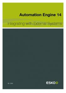 Automation Engine 14. Integrating with External Systems