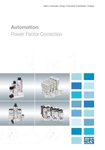 Automation Power Factor Correction. Motors Automation Energy Transmission & Distribution Coatings