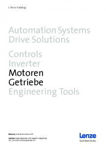 Automation Systems Drive Solutions Controls Inverter Motoren Getriebe Engineering Tools