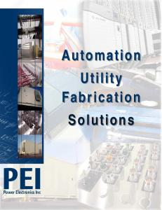 Automation Utility Fabrication Solutions