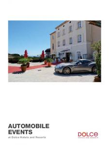 Automobile. at Dolce Hotels and Resorts