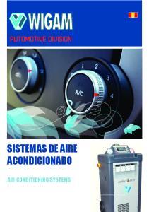 AUTOMOTIVE DIVISION SISTEMAS DE AIRE ACONDICIONADO AIR CONDITIONING SYSTEMS