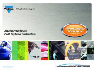 Automotive Full Hybrid Vehicles