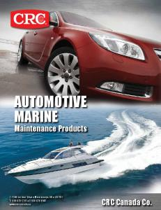AUTOMOTIVE MARINE Maintenance Products