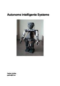 Autonome intelligente Systeme