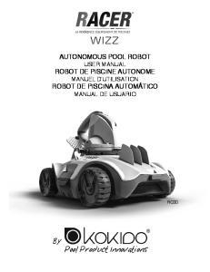 AUTONOMOUS POOL ROBOT