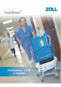 AutoPulse. Mechaniczny CPR w Szpitalu