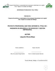 AUTOR: Jaquelin Rivera Maya