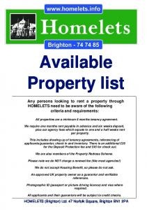 Available Property list