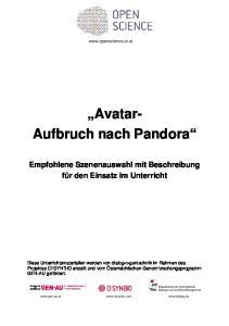 Avatar- Aufbruch nach Pandora