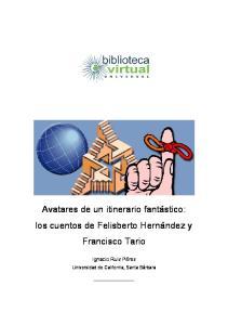 Avatares de un itinerario fantástico: los cuentos de Felisberto Hernández y Francisco Tario