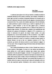 Avellaneda, secular enigma cervantino. Javier Blasco Universidad de Valladolid