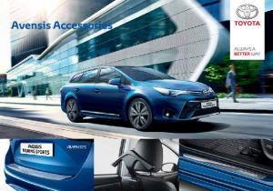 AVENSIS FOR THAT PERSONAL TOUCH