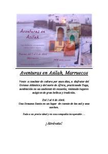 Aventuras en Asilah, Marruecos