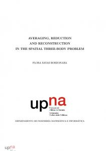 AVERAGING, REDUCTION AND RECONSTRUCTION IN THE SPATIAL THREE-BODY PROBLEM