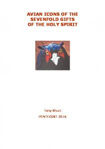 AVIAN ICONS OF THE SEVENFOLD GIFTS OF THE HOLY SPIRIT