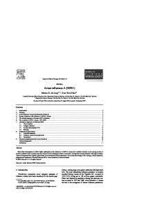 Avian influenza A (H5N1)