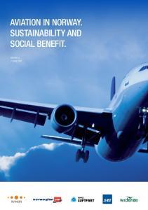 Aviation in Norway. Social Benefit. Report 2 7 june 2011