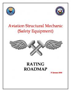 Aviation Structural Mechanic (Safety Equipment)