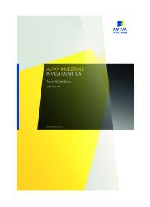 AVIVA INVESTORS INVESTMENT ISA