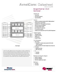 AvnetCore: Datasheet