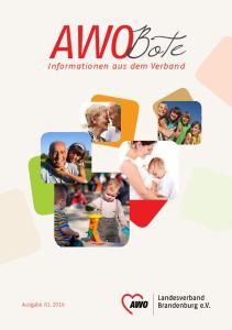 AWOBote. Informationen aus dem Verband