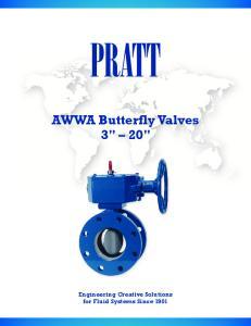 AWWA Butterfly Valves 3
