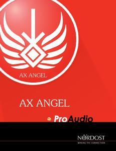 AX ANGEL. Fabricado en Estados Unidos