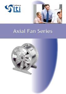 Axial Fan Series Axial F