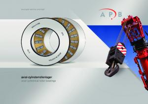 axial-zylinderrollenlager axial cylindrical roller bearings