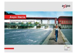 Axpo Iberia. Conectamos con tu negocio