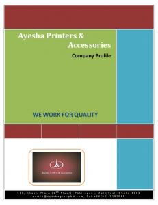 Ayesha Printers & Accessories