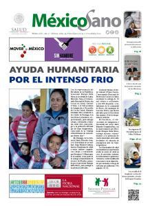 ayuda humanitaria por el intenso frio