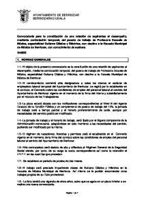 AYUNTAMIENTO DE BERRIOZAR BERRIOZARKO UDALA