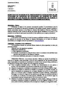 Ayuntamiento de Murcia. Glorieta de España, Murcia T (C.I.F. P A)