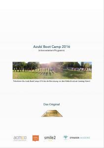 Azubi Boot Camp (mit erweitertem Programm) Das Original