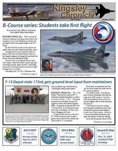B-Course series: Students take first flight