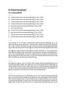 B. Einkommensteuer. Fall 1: Fall 2: Fall 3: Fall 4: Zu 2.3 (Steuerpflicht)