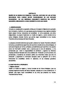 B. OBJETIVOS DE LA PROPUESTA