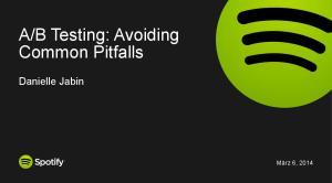 B Testing: Avoiding Common Pitfalls