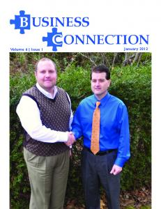 B USINESS C ONNECTION Volume 6 Issue 1. January 2012