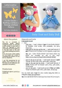 Baby Goat and Baby Bull