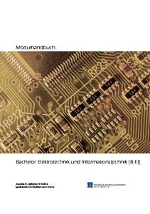 Bachelor Elektrotechnik und Informationstechnik (B-EI)