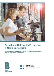 Bachelor in Multimedia Production & Media Engineering