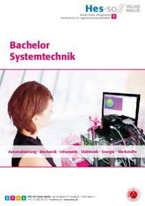 Bachelor Systemtechnik