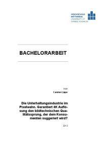 BACHELORARBEIT. Herr Carsten Lippe