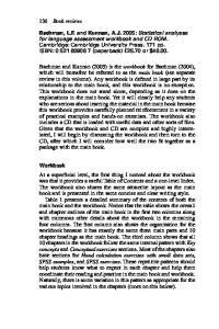 Bachman, L.F. Kunnan, A.J. Workbook